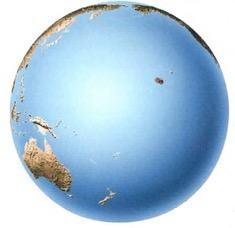 O oceano faz parte da hidrosfera
