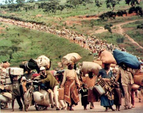 Refugiados da África