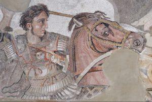 Mosaico de Alexandre, o Grande.
