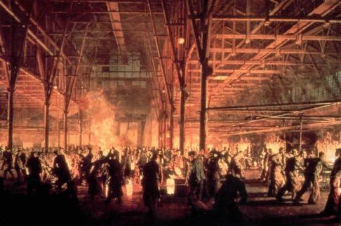 Fundição da fábrica Krupp