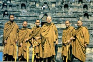 Monges Budistas do Sul