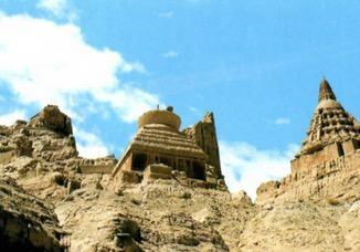 Pagodes da região de Zanda, Tibete