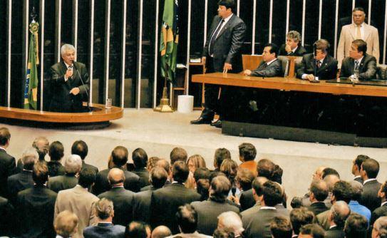 Assembleia no congresso