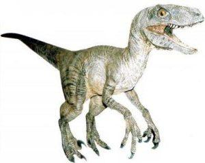 Representação de um dinossauro