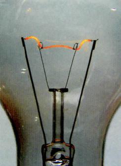 Lâmpada com filamento