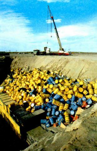 Armazenamento de lixo nuclear