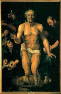 Morte de Sêneca, pintura de Rubens.