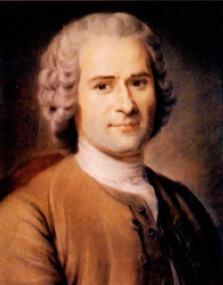 Retrato de Rousseau