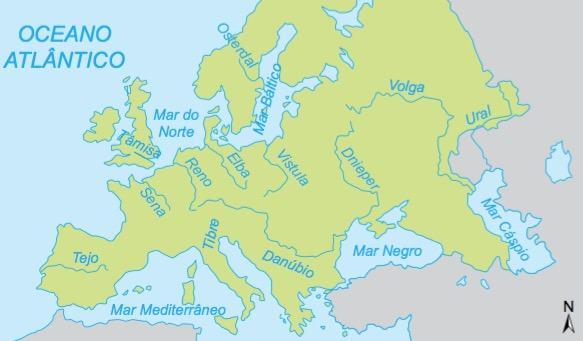 Hidrografia Europa