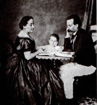 Foto de família de Camilo Castelo Branco
