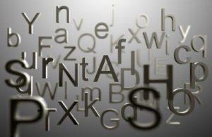 Classificação de palavras