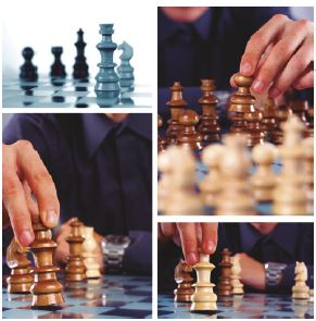 Jogadas do xadrez.
