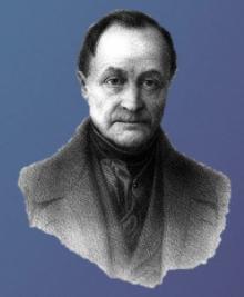 Retrato de Auguste Comte.
