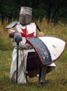 Vestimenta dos soldados nas cruzadas.
