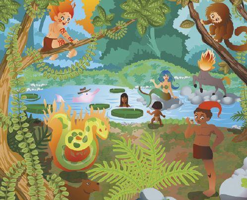 Lenda da amazônia.