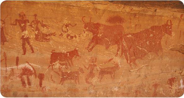 Pintura da pré-história.