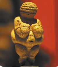 Escultura da pré-história.