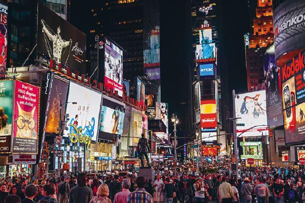 Exemplo de cidade global.