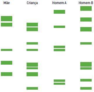 Exemplo 2 de um teste de DNA