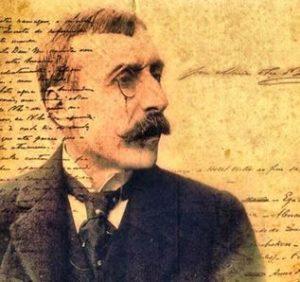 Retrato de Eça de Queirós.