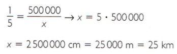 Exemplo 3 de regra de três simples.