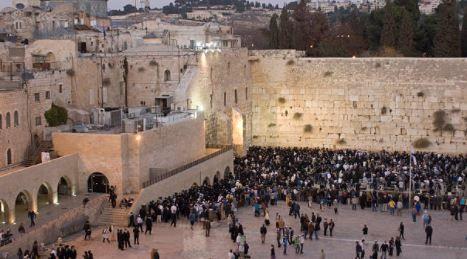 Foto em Jerusalém.