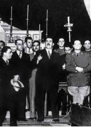 Retrato de Lázaro Cárdenas.