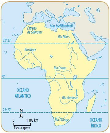 Hidrografia da África.