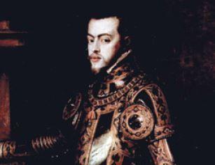 Retrato de Felipe II da Espanha.