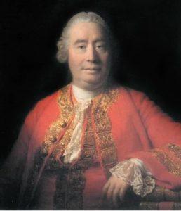 Retrato de David Hume.