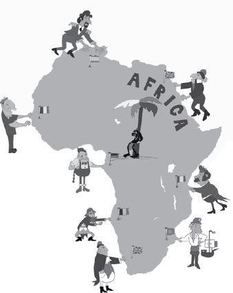 Colonização da África.