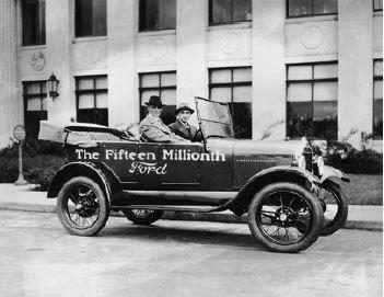 Foto do modelo de carro fordista.