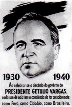 Propaganda da Era Vargas.
