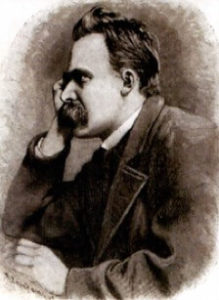 Retrato de Nietzsche.