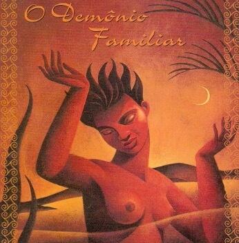 Capa do livro de O demônio Familiar.
