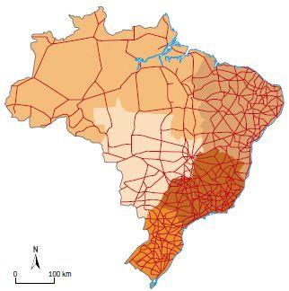 Rodovias no Brasil.