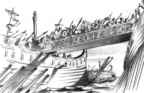 Primeira guerra púnica.