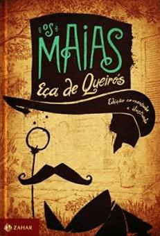 Capa do livro de Os Maias.