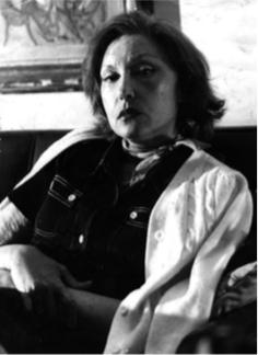 Retrato de Clarice Lispector.
