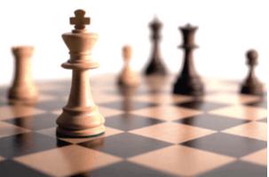 Imagem com um tabuleiro de xadrez explicando o estruturalismo.