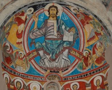 Exemple da pintura românica.