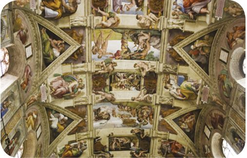 Obra renascentista de Michelangelo.
