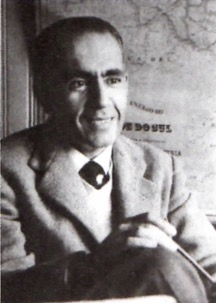 Retrato de Erico Verissimo.