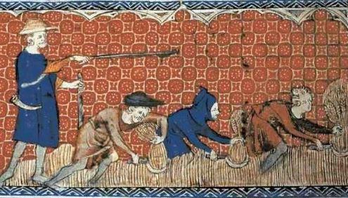 Trabalho na Idade Média.