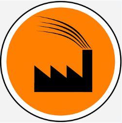 Símbolo de uma indústria.
