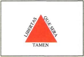 Símbolos presentes na bandeira de Minas Gerais.