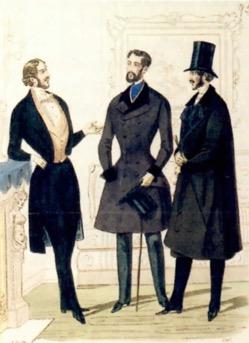 Moda de Paris na época do livro.