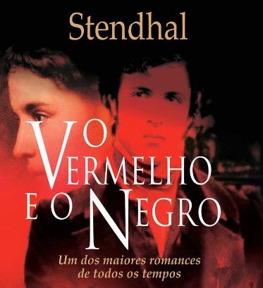 Capa do livro de O vermelho e o negro.