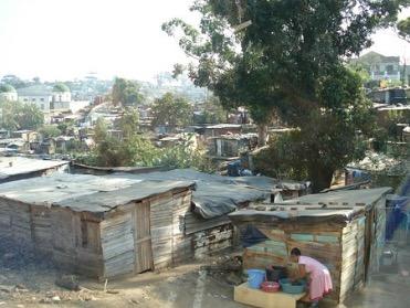 Imagem de uma favela