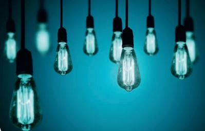 A lâmpada de tungstênio é um exemplo de corpo negro.